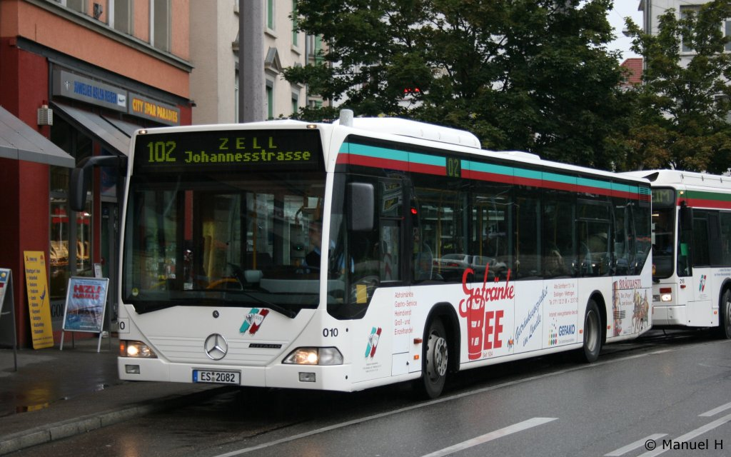 Esslingen, SVE Städtischer Verkehrsbetrieb Esslingen Fotos - Bus-bild.de