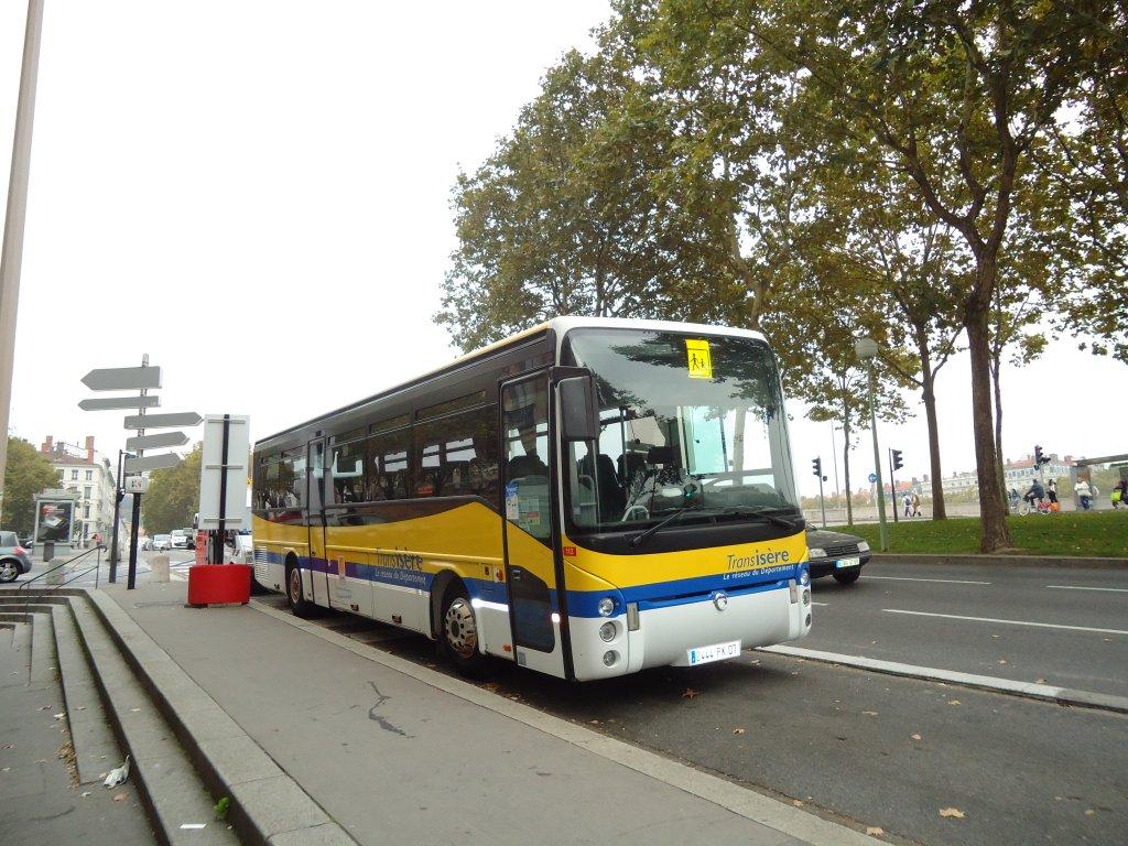 Transis re grenoble nr 113 2444 px 07 irisbus am 14 - Bus grenoble lyon ...