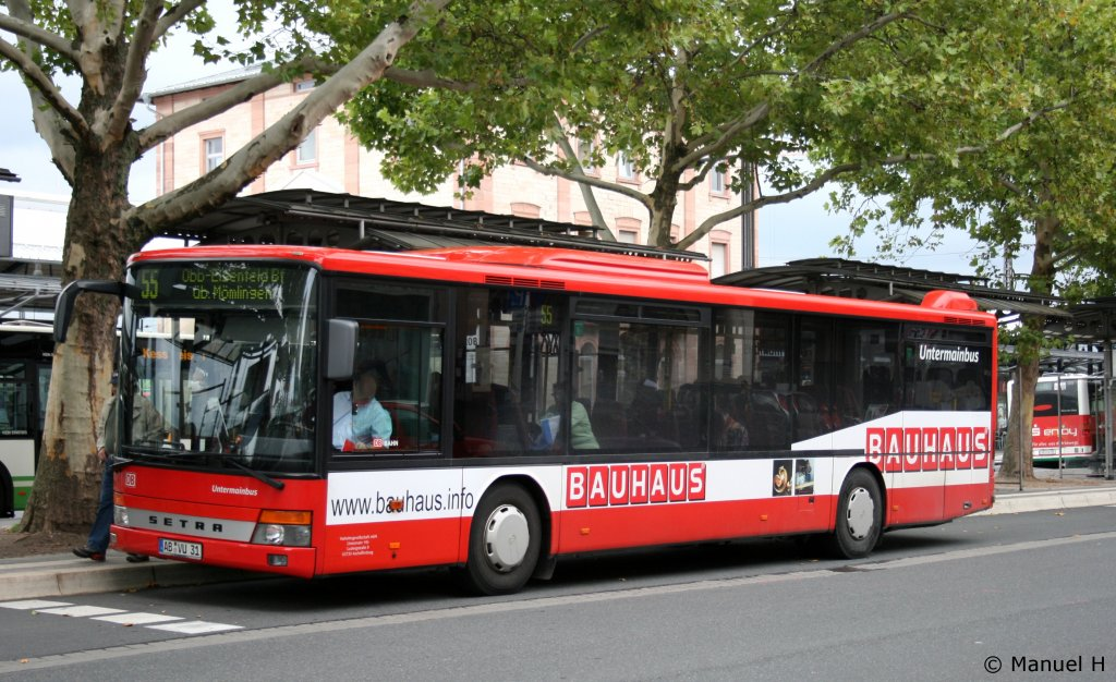 Stab stadtwerke aschaffenburg fotos bus for Bauhaus aschaffenburg