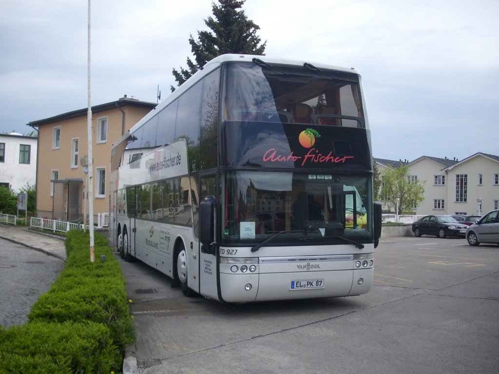 van hool td927 von auto fischer aus deutschland in sassnitz am bus. Black Bedroom Furniture Sets. Home Design Ideas
