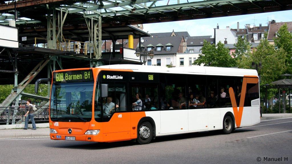 ver 351 en ve 9351 wuppertal oberbarmen 7 bus. Black Bedroom Furniture Sets. Home Design Ideas