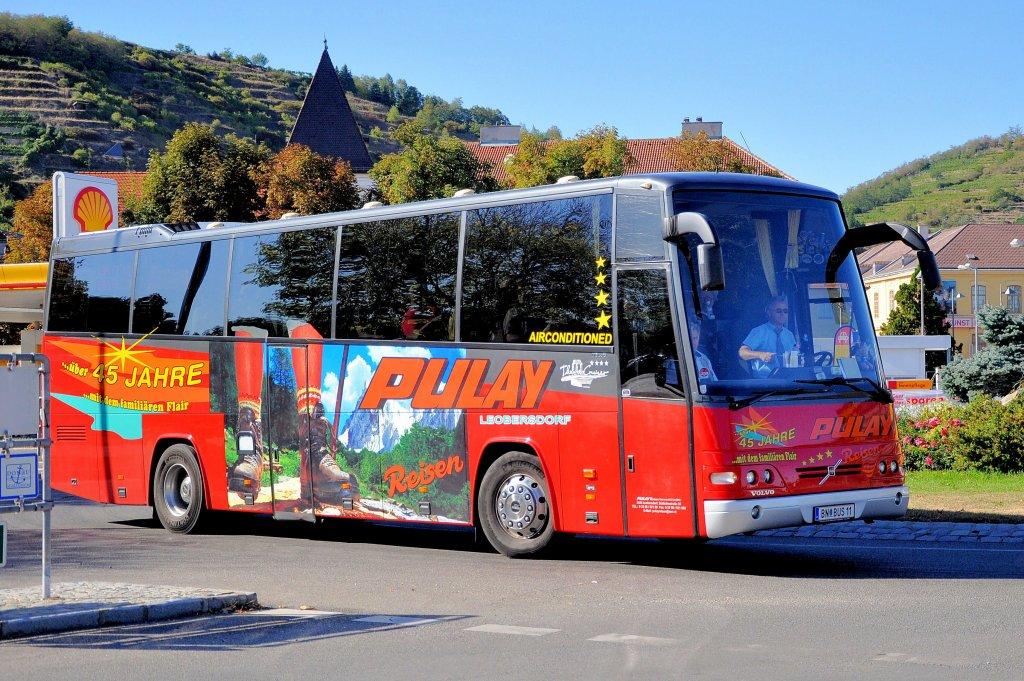 Volvo Reisebus Von Pulay Leobersdorf Bei Wien Am 13 9 2011