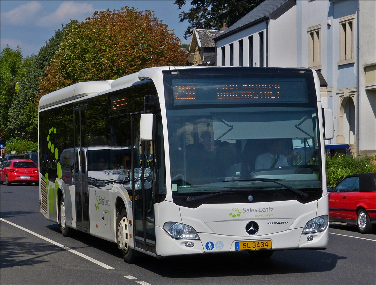 Sales lentz bascharage fotos bus for Mercedes benz salesman