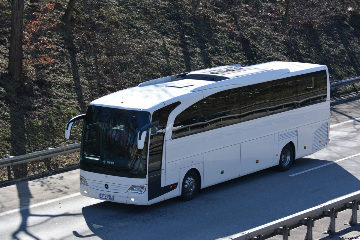 17.03.2019 | Berlin Wannsee | ITY-2387 | Mercedes Benz Travego |