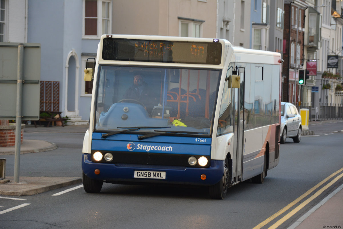 29.10.2018 | England - Deal | Optare | GN58 NXL |