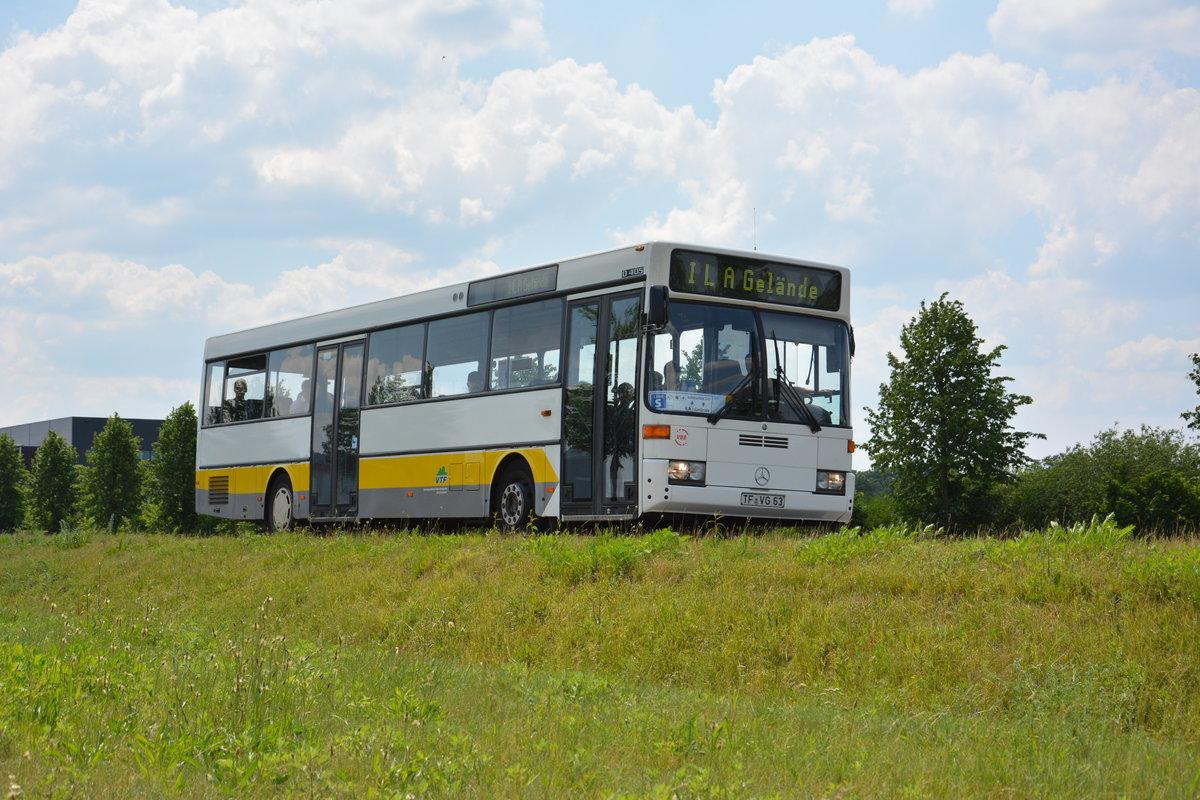 dresmann reisen fr au 766 mit werbung f r grimm k chen am hbf freiburg 7 bus. Black Bedroom Furniture Sets. Home Design Ideas