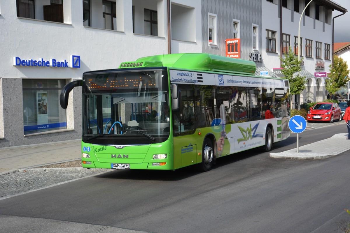 Bus Garmisch Partenkirchen