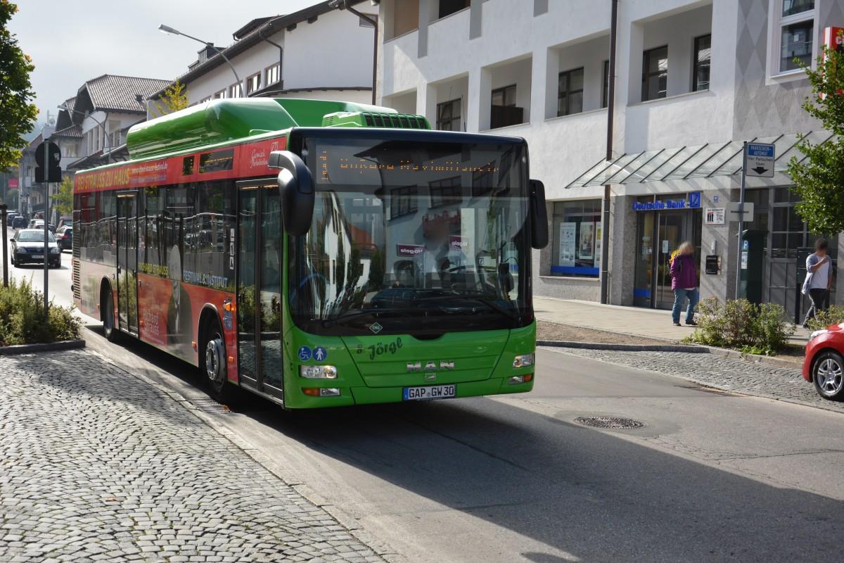 Busverbindung Garmisch