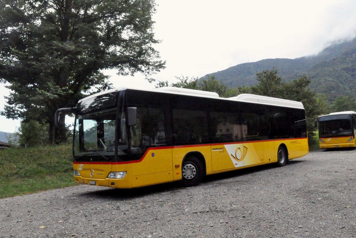 ATV, Rivera. Mercedes-Benz Citaro II LE (Nr.13) in Rivera. (31.7.2016)