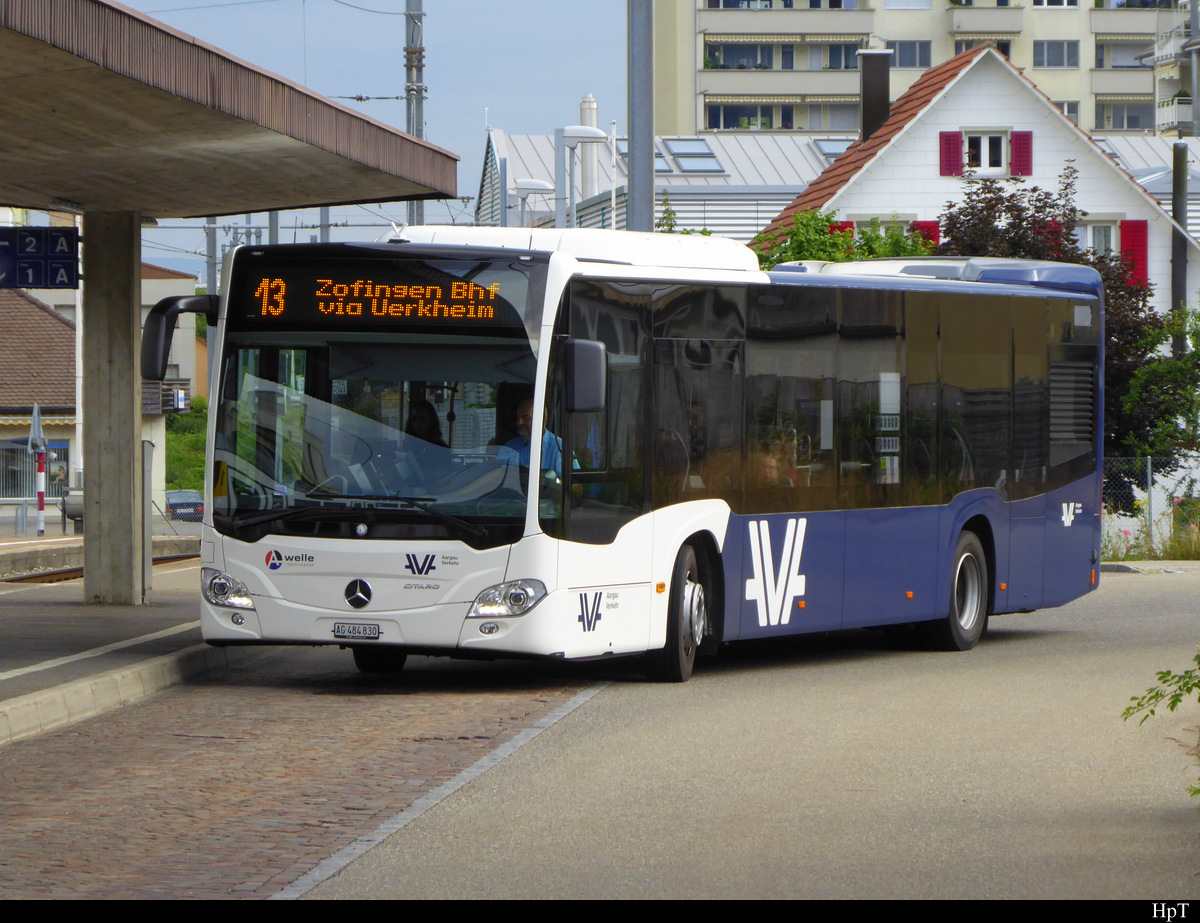 AV - Mercedes Citaro  AG  484830 in Schöftland am 12.07.2019
