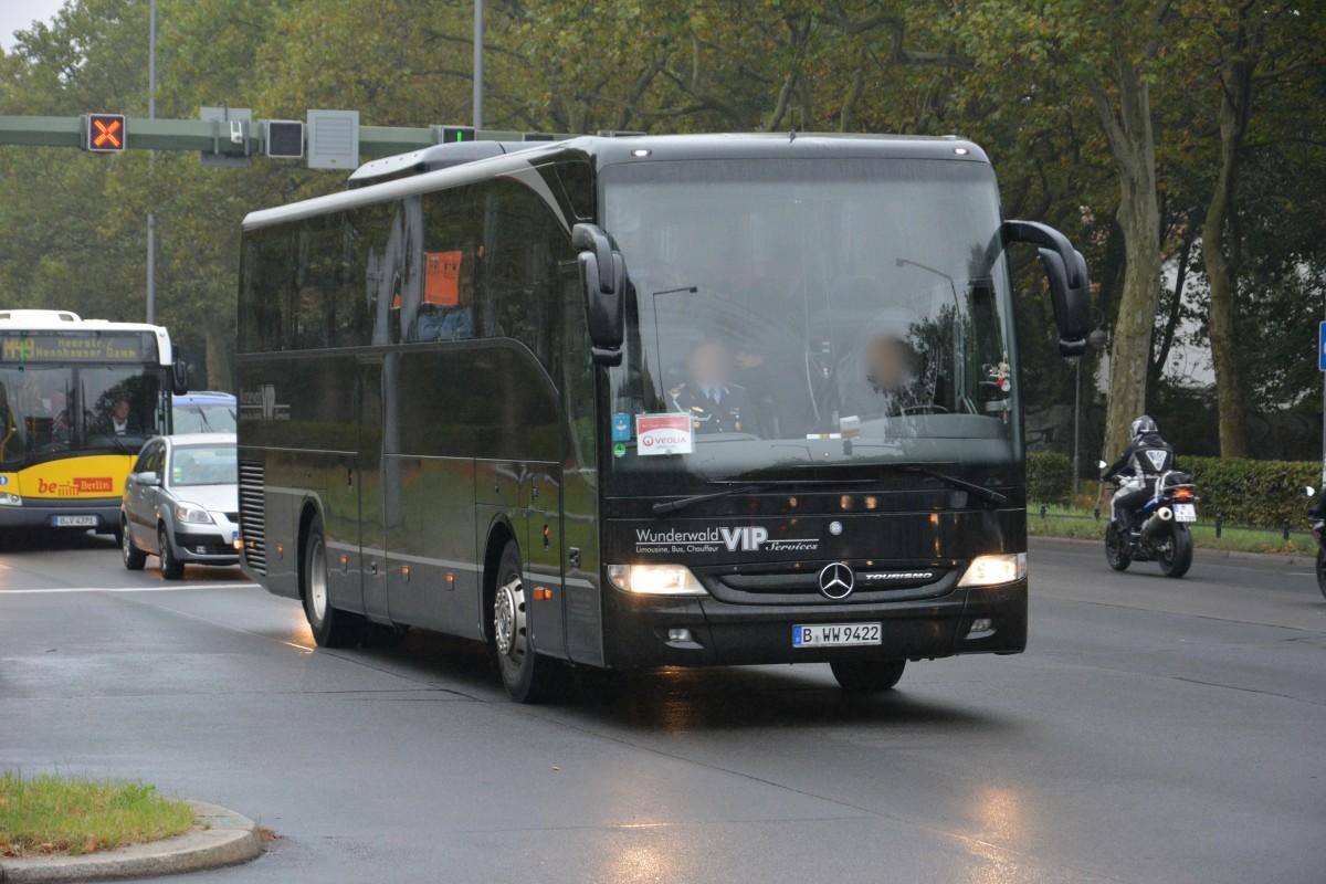 b ww 9422 mercedes benz tourismo unterwegs auf der heerstra e richtung berlin spandau am 26 0. Black Bedroom Furniture Sets. Home Design Ideas