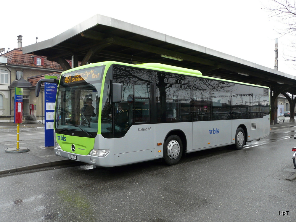 BLS Busland - Mercedes Citaro  Nr.204  BE  737204 in Burgdorf am 02.02.2014