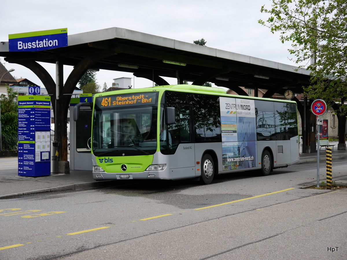 BLS Busland - Mercedes Citaro Nr.206 BE 737206 unterwegs ...