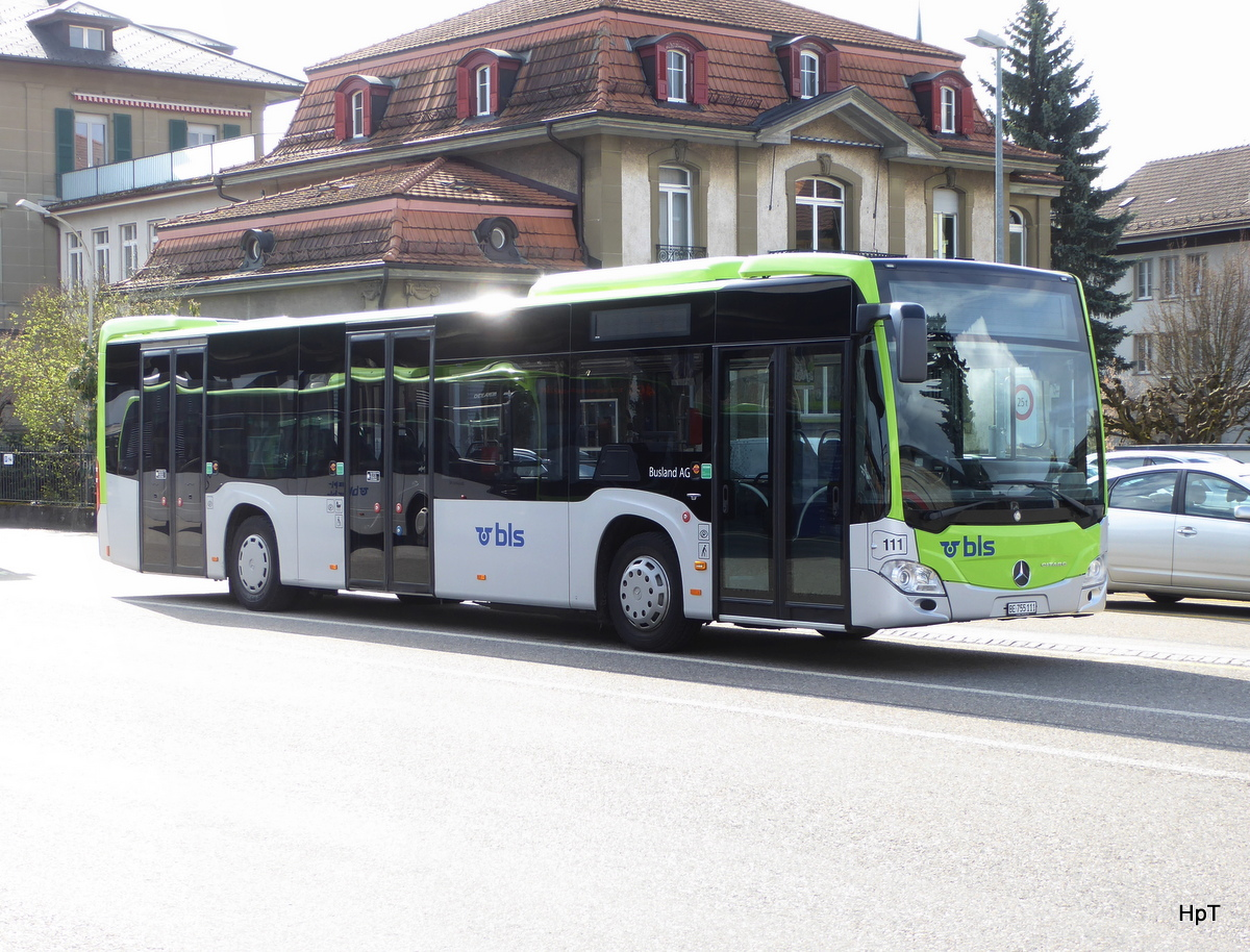 BLS Busland - Mercedes Citaro  Nr.111  BE  755111 in Burgdorf am 16.04.2018