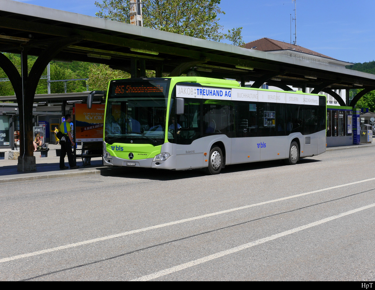 BLS Busland - Mercedes Citaro  Nr.105  BE  737105 in Burgdorf am 08.06.2019