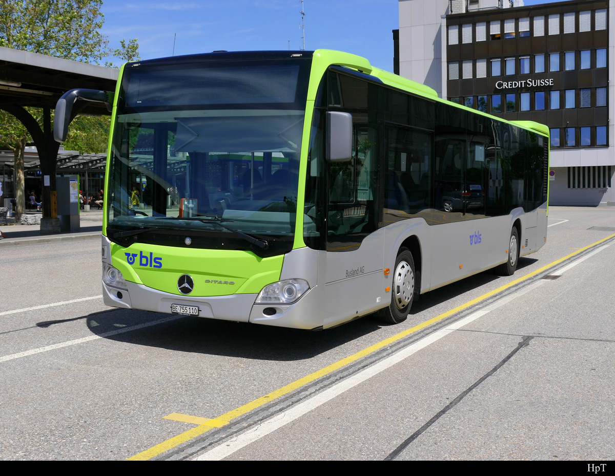 BLS Busland - Mercedes Citaro Nr.110 BE 755110 in Burgdorf am 08.06.2019