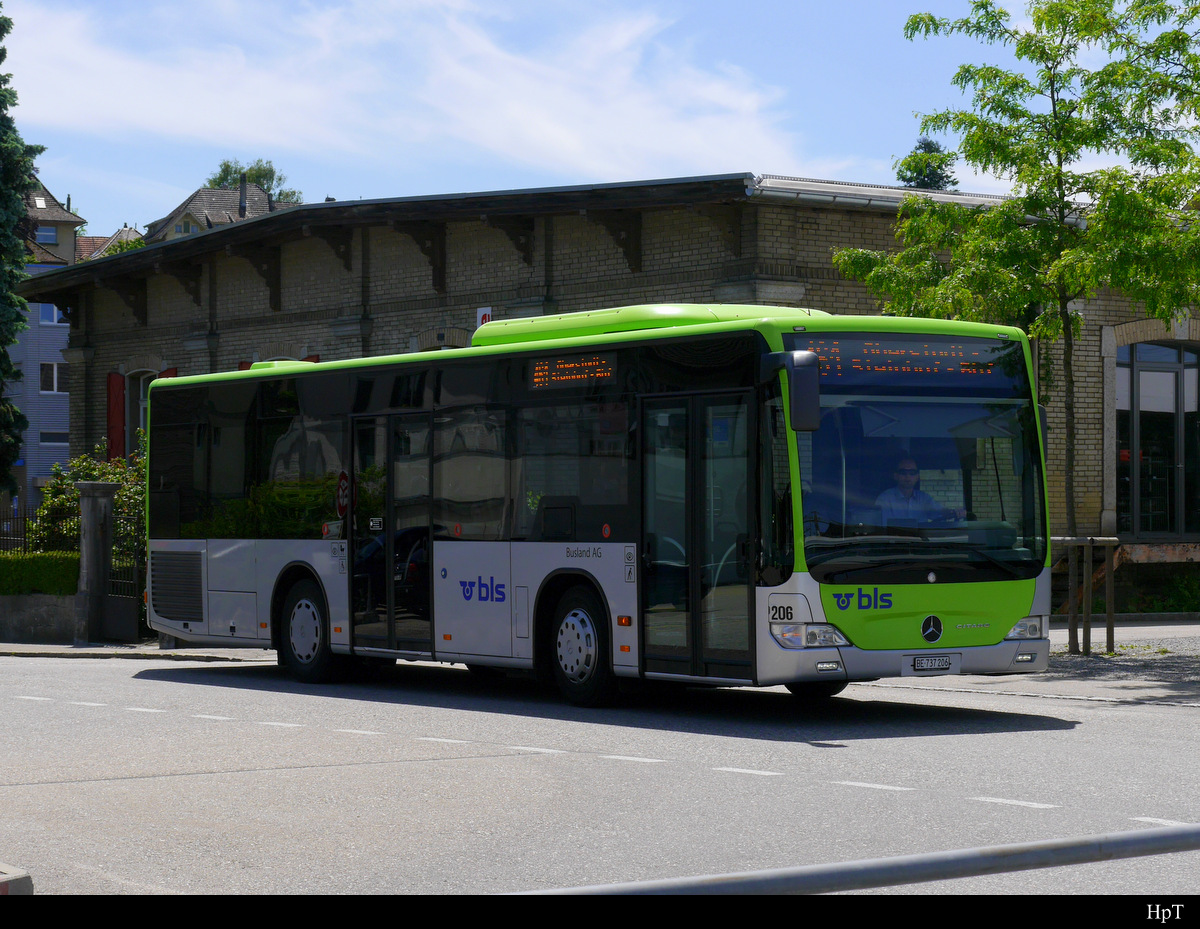 BLS Busland - Mercedes Citaro Nr.206  BE 737206 in Burgdorf am 08.06.2019