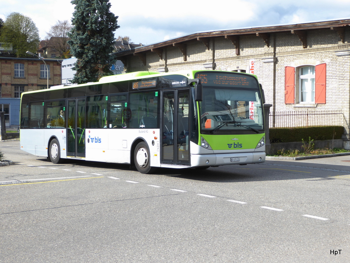BLS Busland - VanHool  Nr.51  BE  679115 in Burgdorf am 16.04.2018