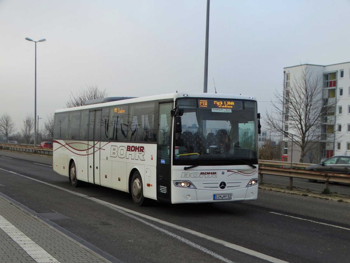 BOHR Mercedes Benz Intouro als Shuttle Verkehr in Mainz am 02.12.17