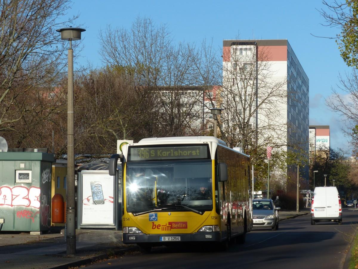 bus b v 1254 der bvg baujahr 2002 auf der linie 396 nach berlin karlshorst hier an der. Black Bedroom Furniture Sets. Home Design Ideas