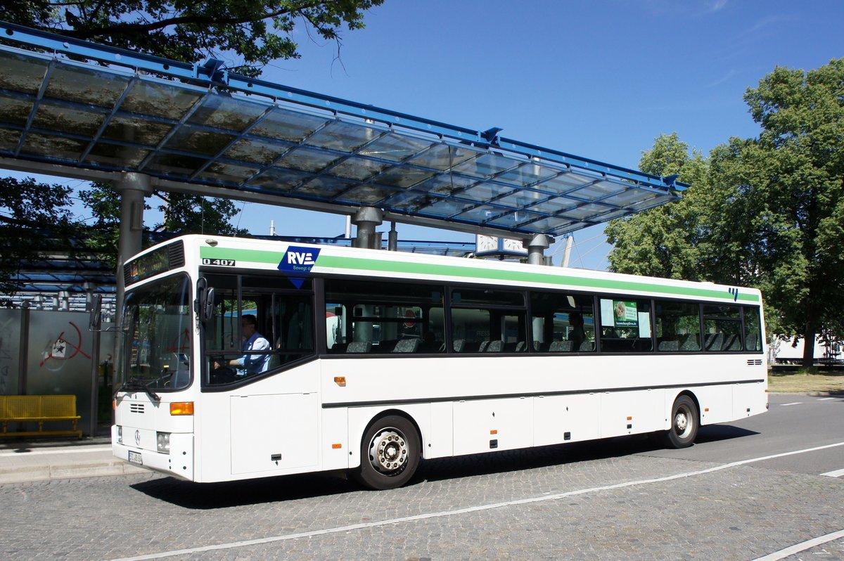 bus chemnitz mercedes benz o 407 der rve regionalverkehr erzgebirge gmbh aufgenommen im juni. Black Bedroom Furniture Sets. Home Design Ideas