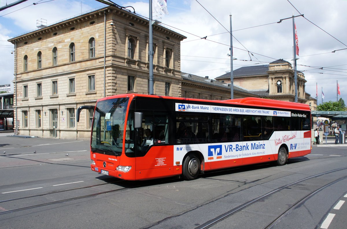 bus mainz mercedes benz citaro le vom omnibusbetrieb. Black Bedroom Furniture Sets. Home Design Ideas