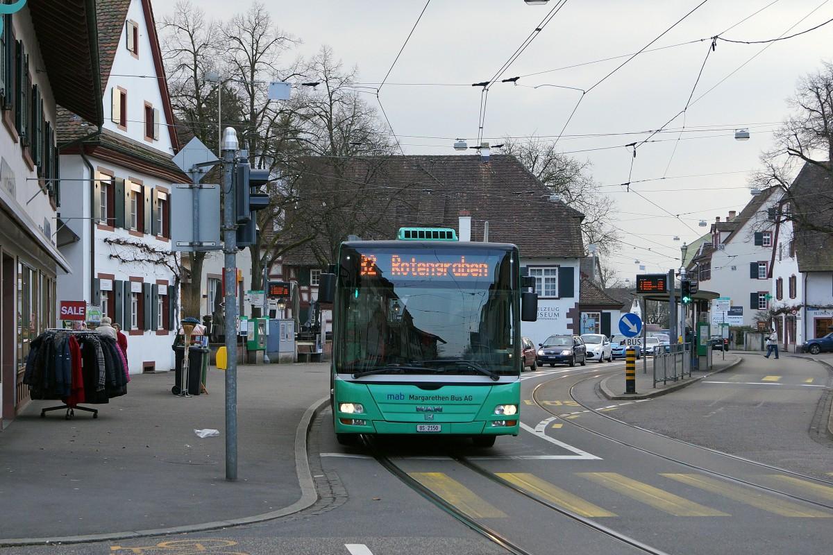 Bvb Kleinbusse Man Der Mab Margareten Bus Ag Auf Der