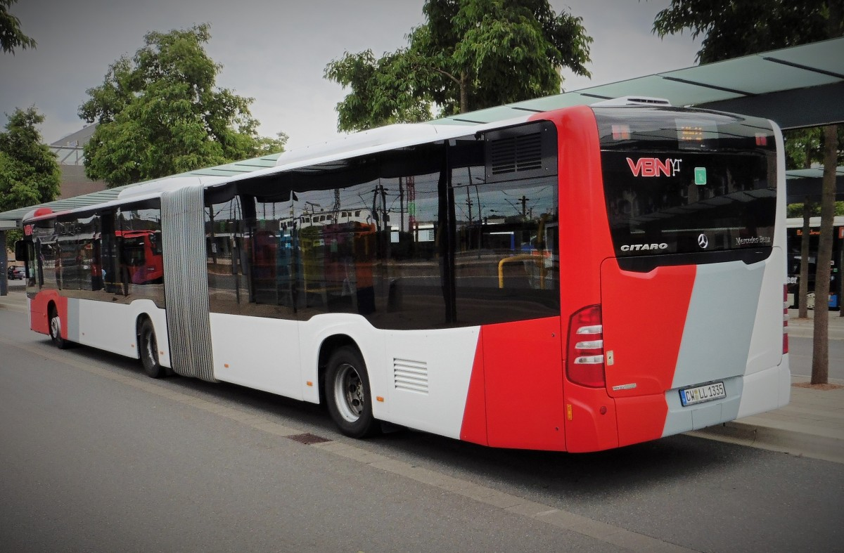 Cw ll 1335 vbn rexer f hrt im sev von b blingen zob nach for Mercedes benz of atlantic city