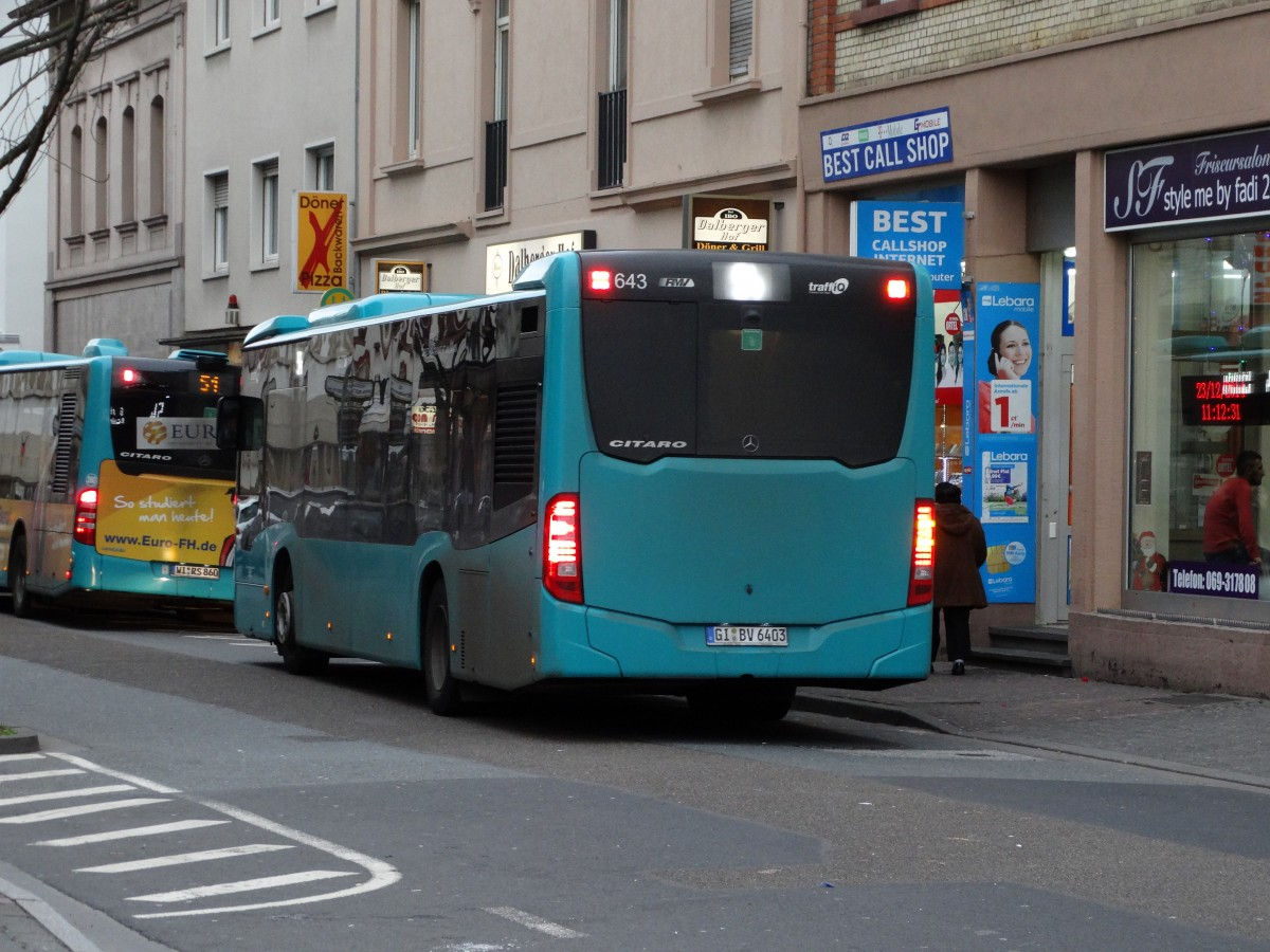 db hessen bus mercedes benz citaro c2 am in frankfurt am main h chst bhf bus. Black Bedroom Furniture Sets. Home Design Ideas