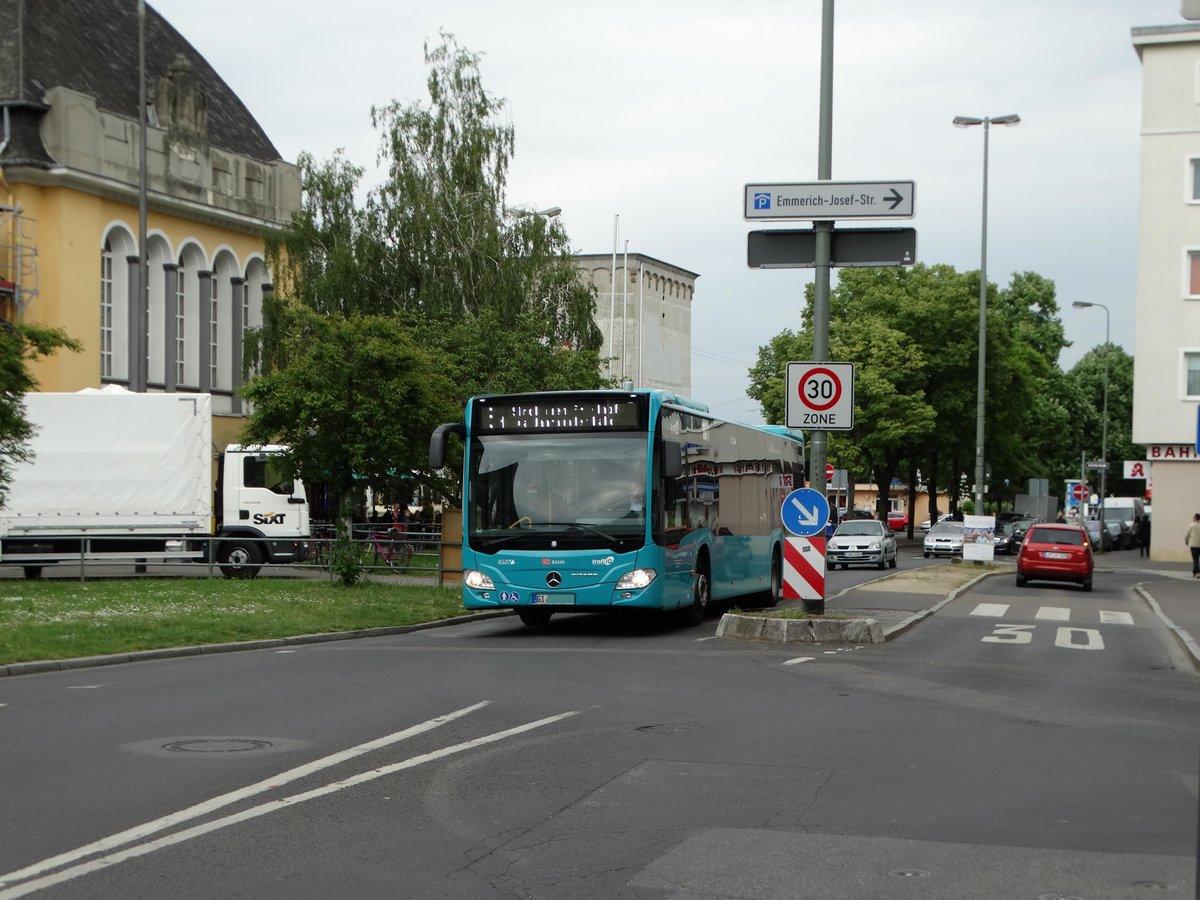db hessen bus mercedes benz citaro c2 424 am in h chst bhf bus. Black Bedroom Furniture Sets. Home Design Ideas