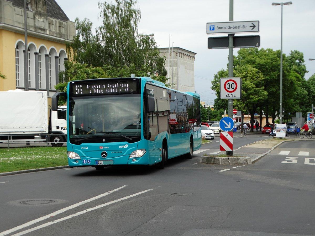 db hessen bus mercedes benz citaro c2 423 am in h chst bhf bus. Black Bedroom Furniture Sets. Home Design Ideas