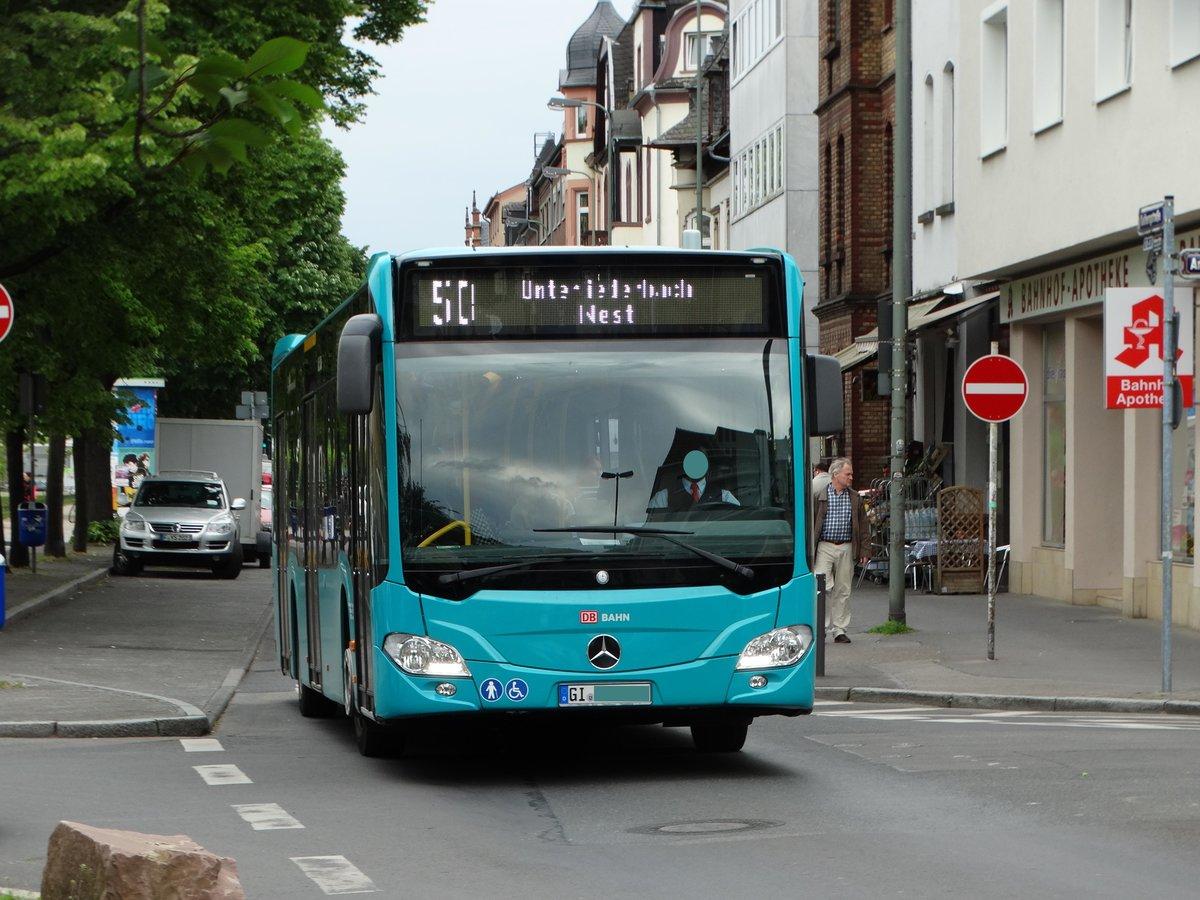 db hessen bus mercedes benz citaro c2 412 am in h chst bhf bus. Black Bedroom Furniture Sets. Home Design Ideas