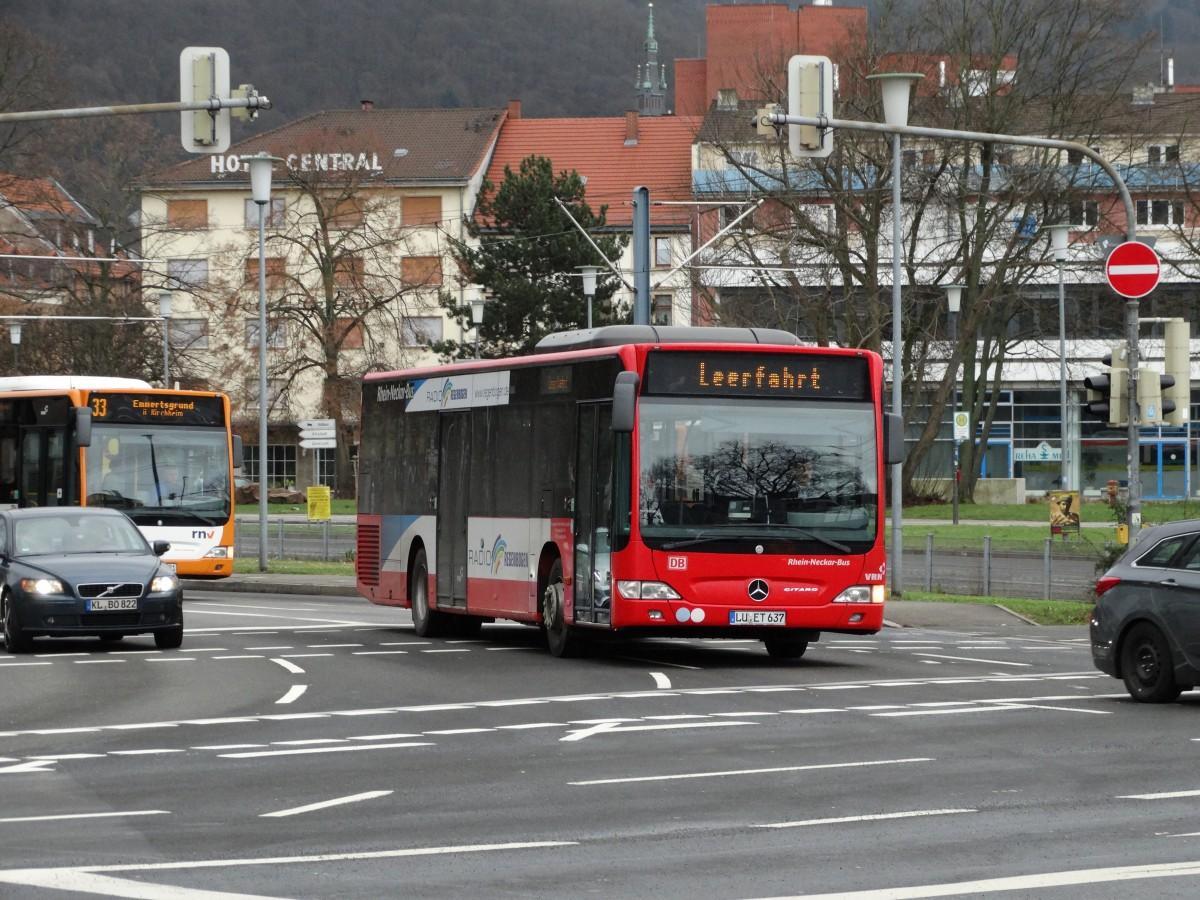 db rhein neckar bus mercedes benz citaro c1 facelift in. Black Bedroom Furniture Sets. Home Design Ideas