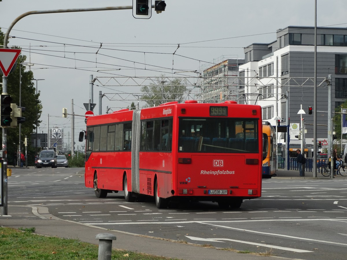 db rheinpfalzbus mercedes benz o407 g am in. Black Bedroom Furniture Sets. Home Design Ideas