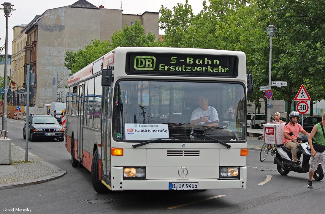Dieser Mercedes Benz O405n2 Von Havelbus Ist Einer Der