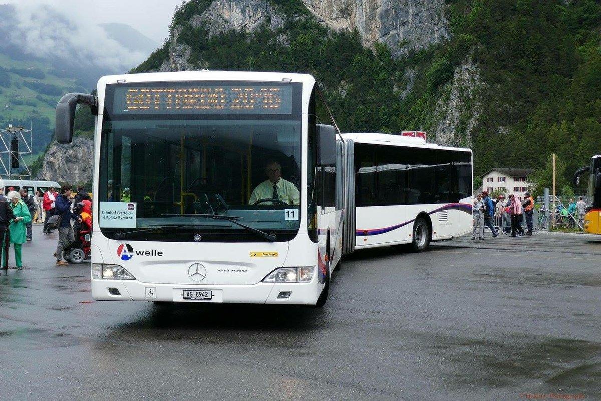 ein weisse a welle postauto aus dem aargau war auch dabei am 5 in ryn cht bus. Black Bedroom Furniture Sets. Home Design Ideas