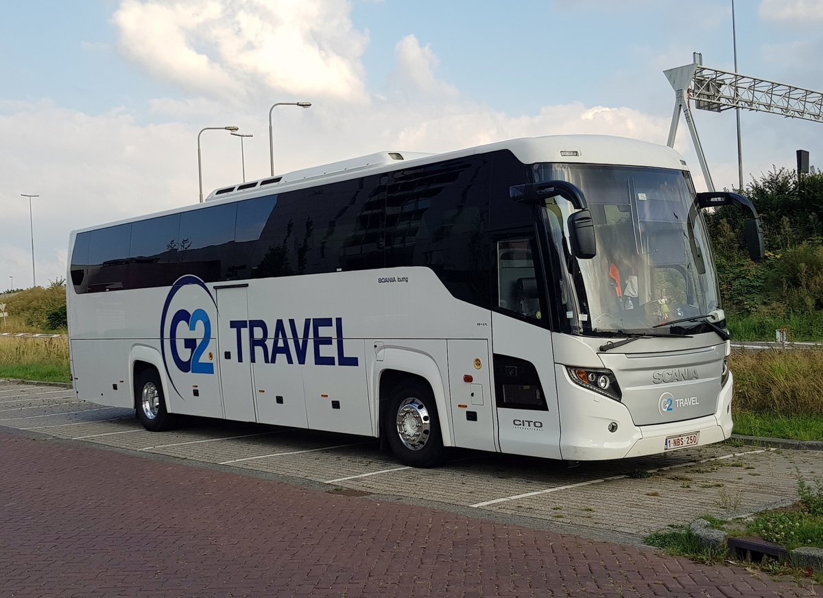 Groningen . 2019-08-29.  Cito Tours . 1-NBS-250 . Scania - Higer . Touring