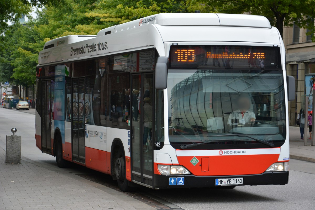 Hh yb 1384 mercedes benz citaro facelift hochbahn for Benz hamburg
