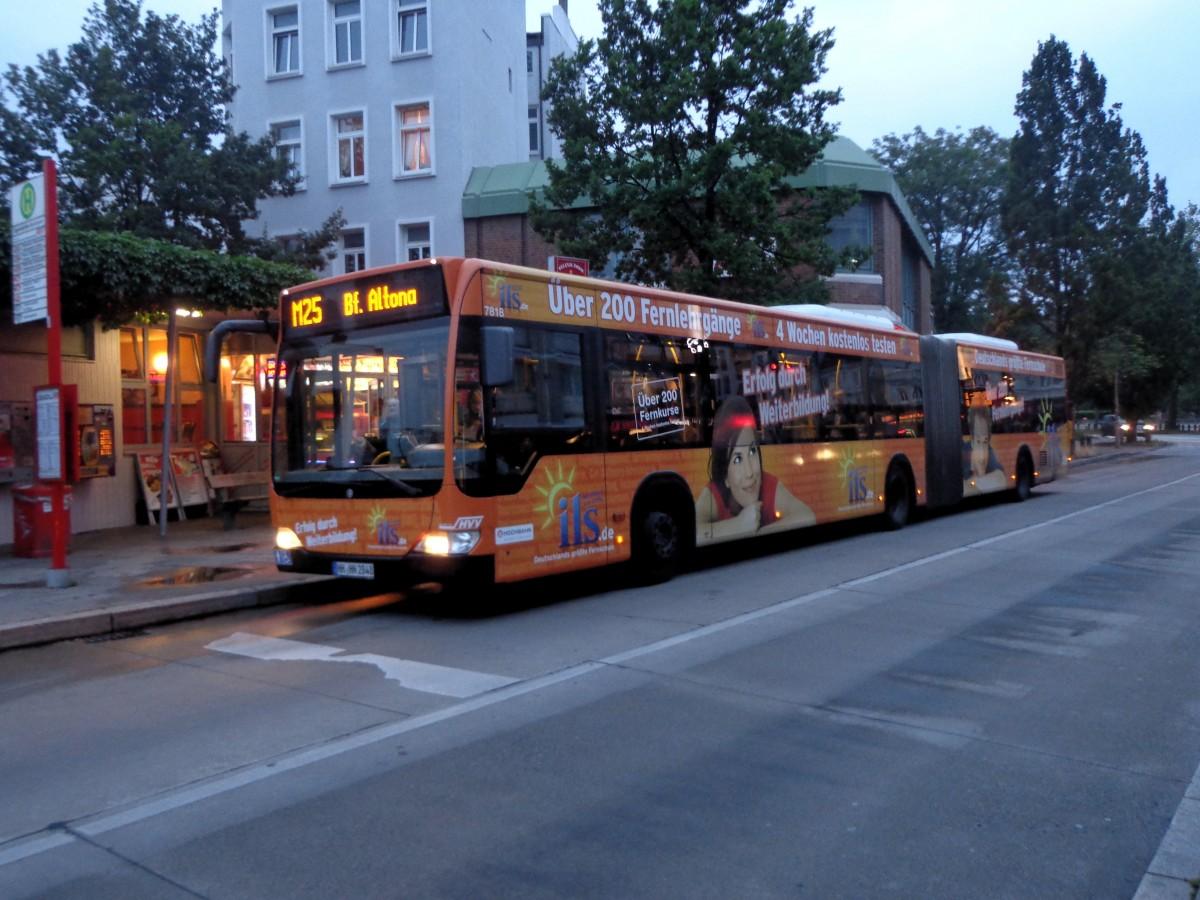 HHA 7818 MB O 530 II G auf M25, Eppendorfer Markt am 13.07.15 - Bus ...