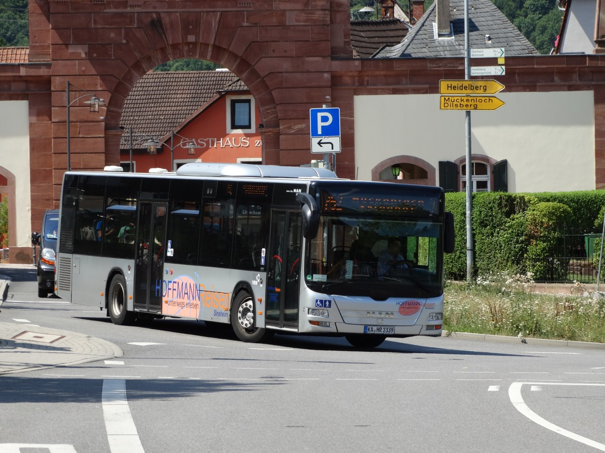 Hoffman Reisen MAN Lions City am 16.07.15 in Neckargemünd