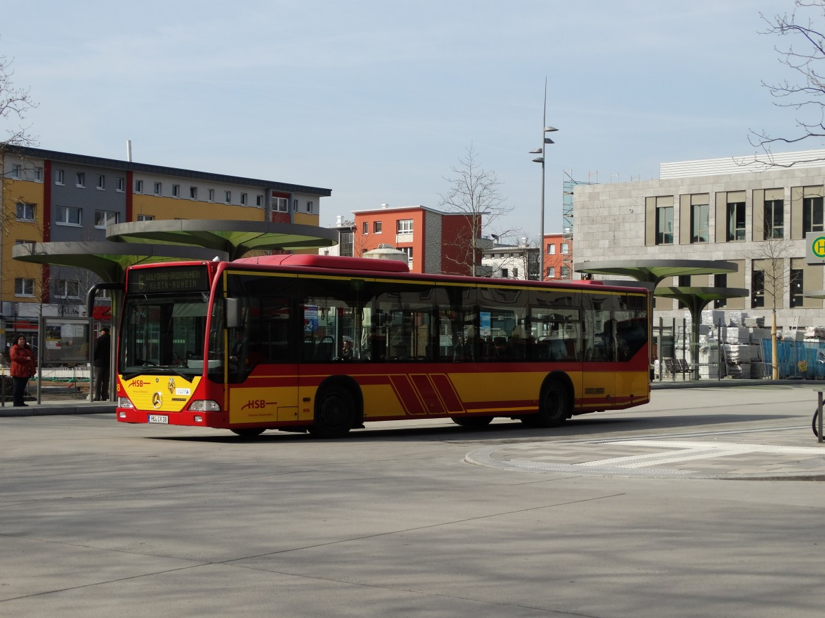 hsb mercedes benz citaro c1 38 am in hanau bus. Black Bedroom Furniture Sets. Home Design Ideas