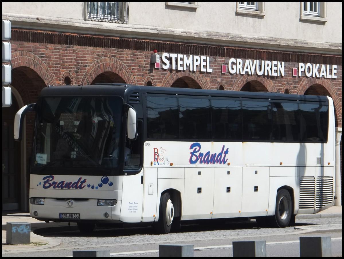 irisbus iliade von brandt aus deutschland in rostock am bus. Black Bedroom Furniture Sets. Home Design Ideas