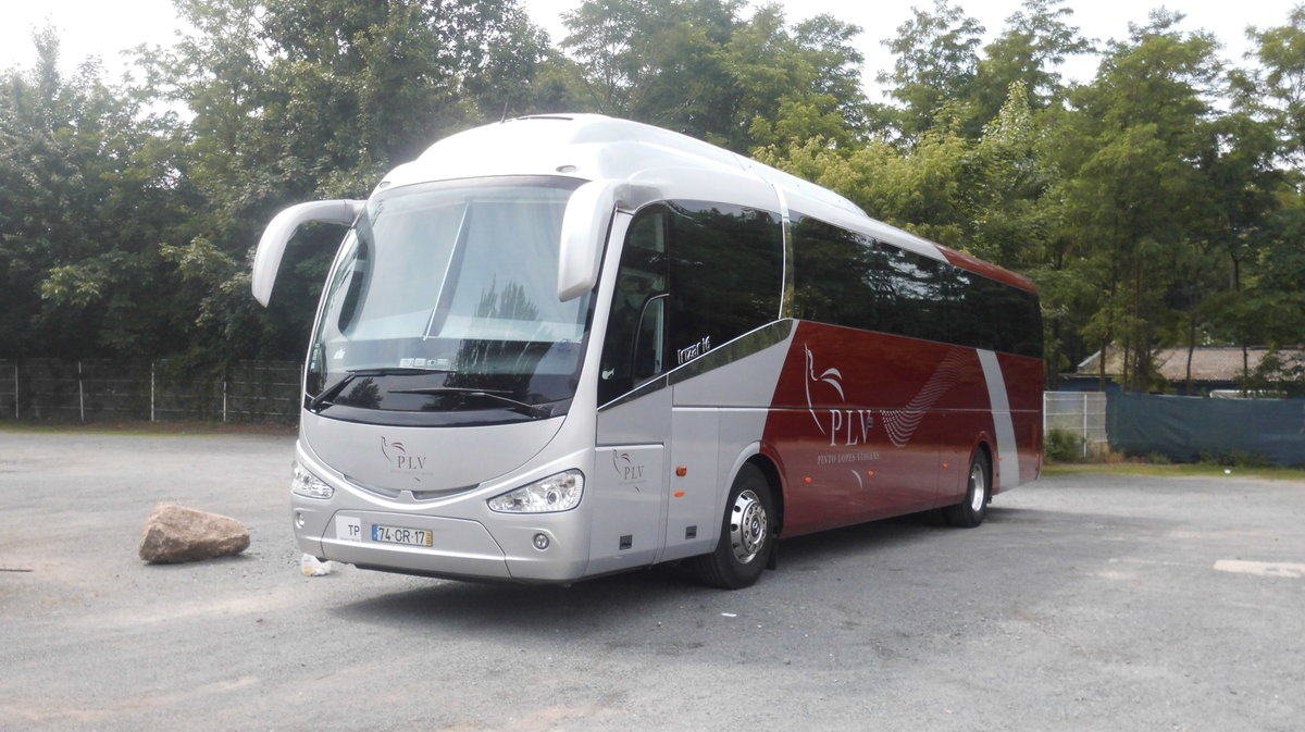 Irizar am 13.06.2015 in Dresden