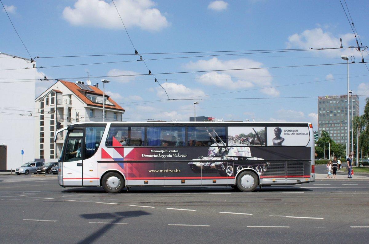 Serbien Belgrad Beograd Setra S 309 Hd Von Joe Travel Aus Mitrovica Im Kosovo Aufgenommen Im Juni 2018 In Der Nahe Der Haltestelle Bus Bild De