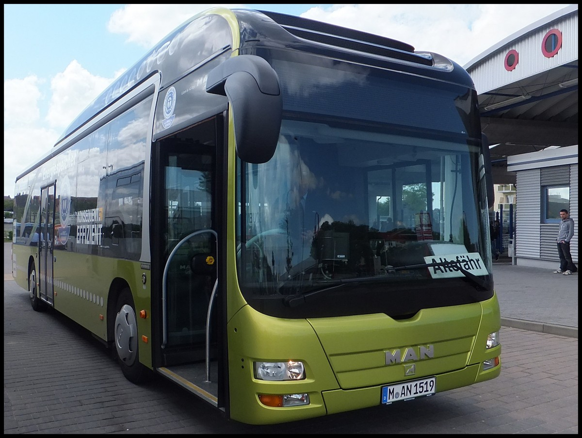 man lion 39 s city hybrid aus m nchen in bergen am bus. Black Bedroom Furniture Sets. Home Design Ideas