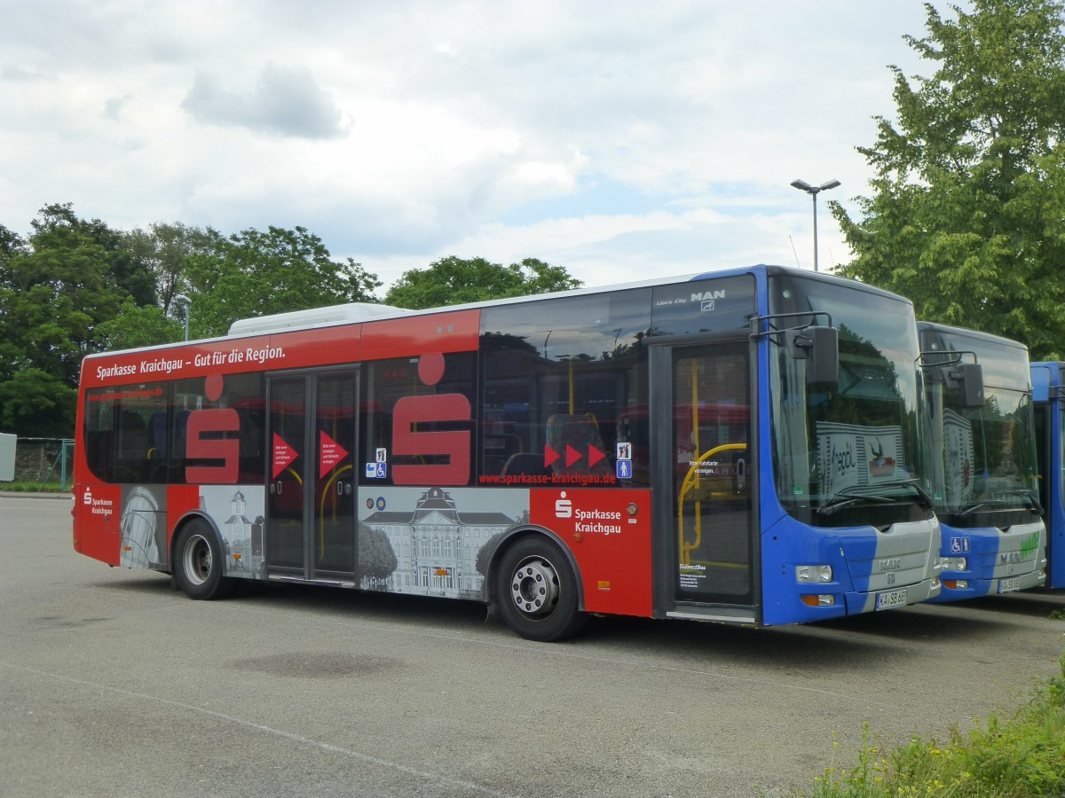 MAN Lion's City K  Südwestbus , Bruchsal 01.06.2014