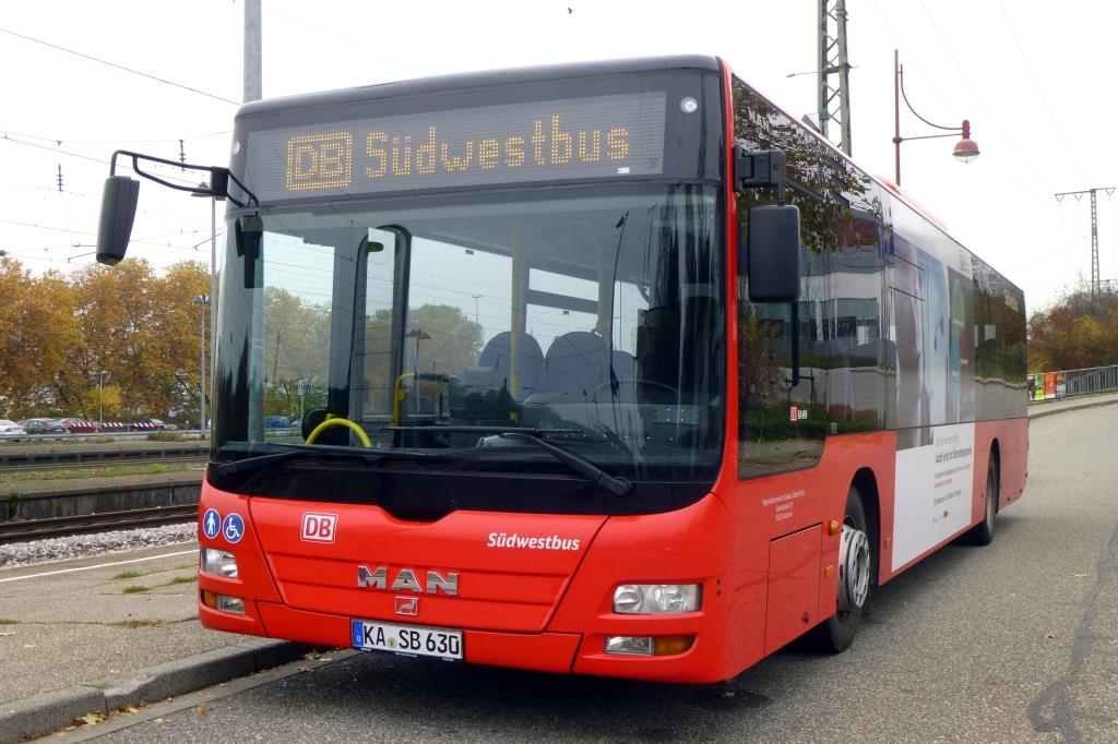 MAN Lion's City Ü  Südwestbus , Bretten 01.11.2015