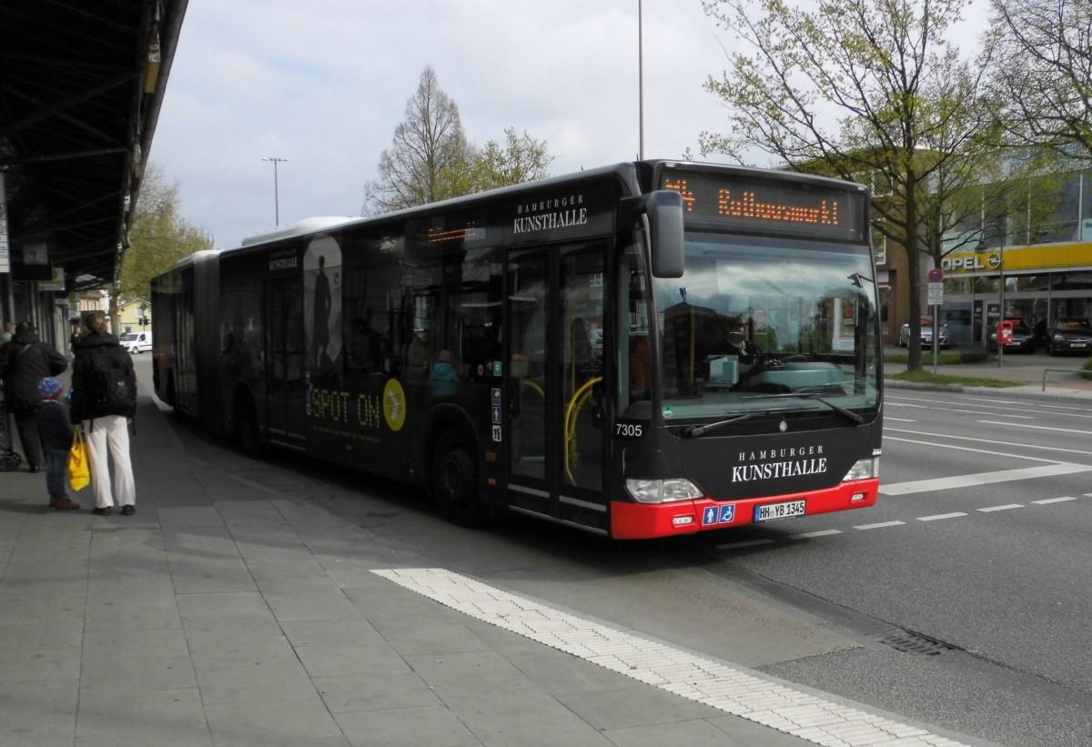 MB Citaro Facelift G HHA 7305 auf Linie M4 am Eidelstedter Platz ...