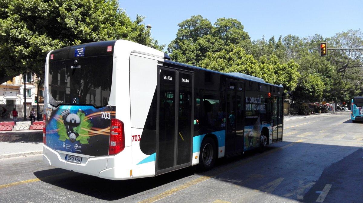 Malaga fotos bus for Oficina emt malaga