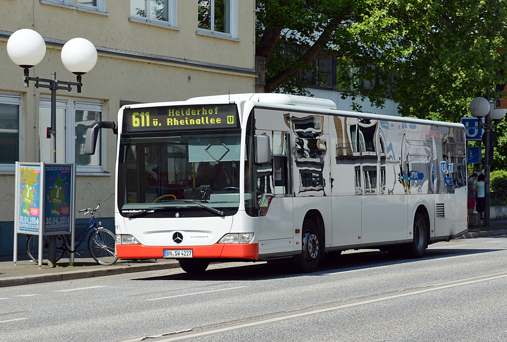 MB O 530 der SWB in Bonn - 23.04.2014